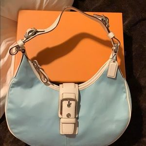 Coach limited edition hobo style in summer color